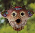 Jim Shore 4026860 Owl Birdhouse