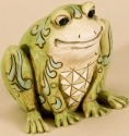 Jim Shore 4026877 Mini Frog Figurine