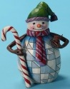 Jim Shore 4027716 Many are the Season's Joys Figurine