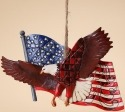 Jim Shore 4027753 Eagle Flag Ornament