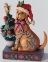 Jim Shore 4027767 Tails Wag for Christmas Figurine
