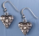 Jim Shore 4032507 Heart Earrings