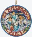 Jim Shore 4034387 Angel 2013 Dated Hanging Ornament