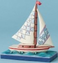 Jim Shore 4039482 Mini Sailboat