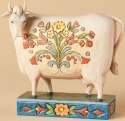 Jim Shore 4039491 Folk Cow