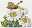 Jim Shore 4040658 April Flower Daisy Figurine