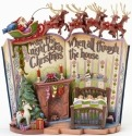 Jim Shore 4041100 Night Before Christmas Storybook