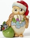 Jim Shore 4041105 Mini Christmas Owl