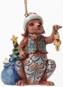 Jim Shore 4041121 2014 Christmas Dog Ornament