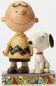 Jim Shore Peanuts 4042387 Friendship Charlie Brown