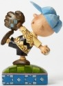 Jim Shore Peanuts 4043619 Baseball Charlie Brown