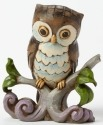 Jim Shore 4044525 Owl on Branch Mini Figurine