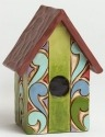 Jim Shore 4045275 Birdhouse Mini Figurine