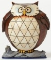 Jim Shore 4047077 Pint Lazy Owl Figurine