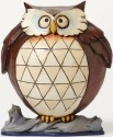 Jim Shore 4047077Q Pint Lazy Owl Figurine