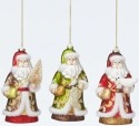 Jim Shore 4047686 3 Assorted Victorian San Ornament