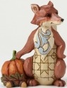 Jim Shore 4047833 Harvest Fox Mini Figurine