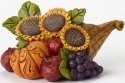 Jim Shore 4047834 Sunflower Cornucopi Figurine