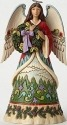 Jim Shore 4049792 Angel and Evergreen Figurine
