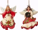 Jim Shore 4051331 Set 2 Angels Ornament