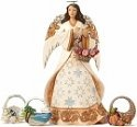 Jim Shore 4051419 Set 5 Seasonal Ange Figurine