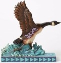 Jim Shore 4052062 Canada Goose Out of Figurine
