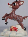 Jim Shore 4053074 Reindeer Flying Rudolph The Red Nosed Reindeer