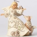 Jim Shore 4053693 Woodland Angel Animals Figurine