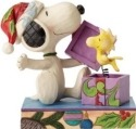 Jim Shore Peanuts 4053696 Snoopy and Woodstock De