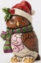 Jim Shore 4053821 Pint Christmas Owl Figurine
