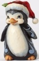 Jim Shore 4053823 Pint Christmas Penguin Figurine