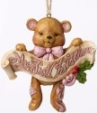 Jim Shore 4053851 Baby's 1st Christmas Ornament
