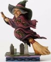 Jim Shore 4053867 Pint Witch Flying o Figurine