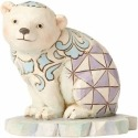 Jim Shore 4055060 Polar Bear Mini Figurine