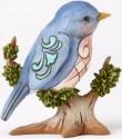 Jim Shore 4055061 Bird On Branch Mini Figurine