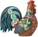 Jim Shore 4055062 Sitting Rooster Min Figurine