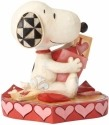 Jim Shore Peanuts 4055652 Snoopy with Valentine's