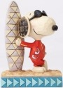 Jim Shore Peanuts 4055655 Joe Cool Snoopy with Sur