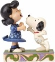 Peanuts by Jim Shore 4055941 Snoopy Kissing Lucy Ever