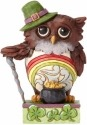 Jim Shore 4056938 Irish Owl Mini Figurine