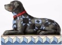 Jim Shore 4056956 Black Labrador Figurine