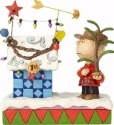 Jim Shore Peanuts 4057673 Charlie Brown and Decora