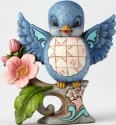 Jim Shore 4057699 Bluebird Lazy & Love Figurine