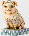 Jim Shore 4057701 Pig Lazy & Loveable Figurine