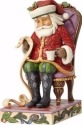 Jim Shore 4058786 Santa in Chair w Li