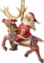 Jim Shore 4058816 Santa on Reindeer