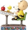 Jim Shore Peanuts 4059435 Charlie Brown Snoopy & Woodstock