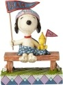 Peanuts by Jim Shore 4059437 Snoopy & Woodstock (Rah