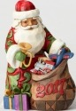 Jim Shore 4059922 Santa Bag of T