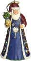 Jim Shore 4061417 South Carolina Santa Figurine